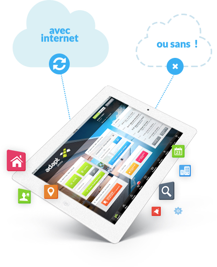 Logiciel Immo Applications Mobiles Adapt Immo